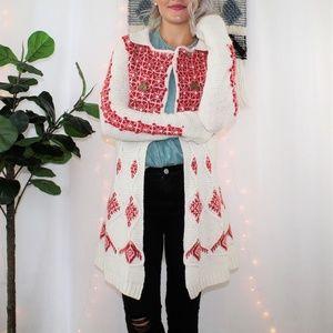 Anthropologie Sparrow Lantern Mile Sweater Coat